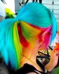 Rainbow Bright Hair!