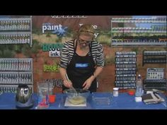 For those of you who want to make your own Gelli Plate.  Derivan Creating a Gelatin Plate - With Eliza