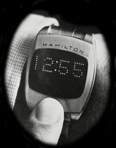 Hamilton Pulsar LED 70s Prototype - The first digital watch