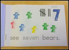 Mrs. Byrd's Learning Tree: Counting and Reading - this blog post has ideas for a student made counting book and emergent reader. Covers LOTS of CCSS and is a great way to teach/review number words.