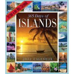 365, island 2012, 2012 wall, islands, wall calendar