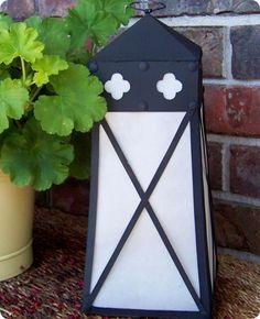 cardboard box, crafti, quatrefoil lantern, paper, cereal boxes