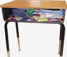 School desk organization on pinterest - School desk organization ideas ...