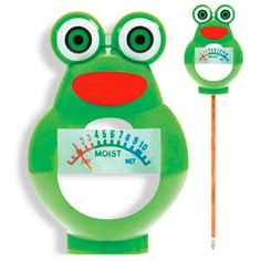 This super cute Frog Water Meter is one of three holiday gifts you can win in this Kids Gardening Giveaway. With @Jayme Jenkins