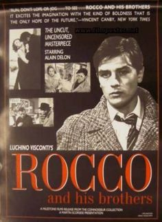 Alann Delion Movie Posters   Rocco and his Brothers - original movie poster re-release US onesheet