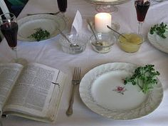 Christian Seder supper