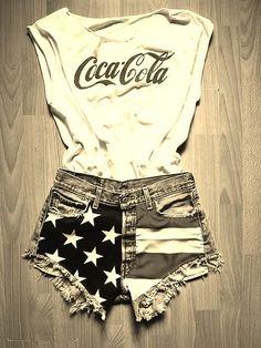 #USA!  fashion teen #2dayslook #new style #teenfashion  www.2dayslook.com