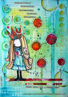 Tiddly Ink image - Always the flower girl