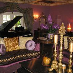 purple color schemes on pinterest