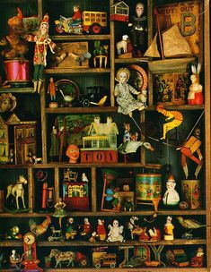 Toys from the Attic 2 by Brick Cottage, via Flickr