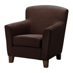 EKENÄS Armchair - Tullinge dark brown - IKEA