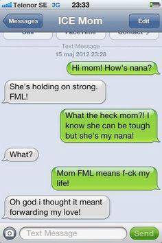 FML- oh parents