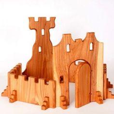 Wooden Castle Blocks