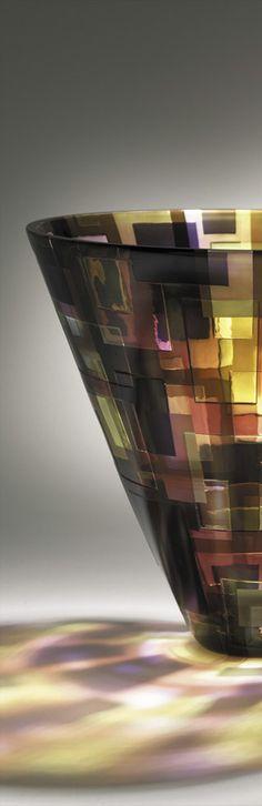 art glass, glass bowl, contemporari glass, beauti glass