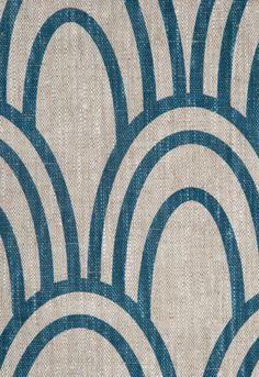 Scallop Schumacher Fabric