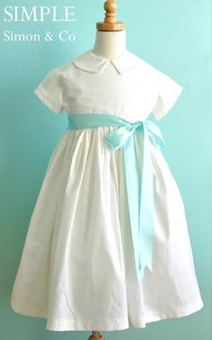 The Vintage Holiday Dress Tutorial from Simple Simon & Co.