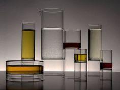 Glassware from Fferone Design.