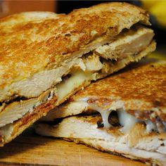 Dijon Chicken Club Sandwiches.