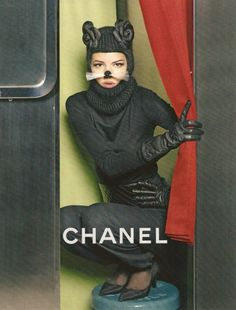 @Carine Roitfeld for #Chanel > Fall/ Winter 2012