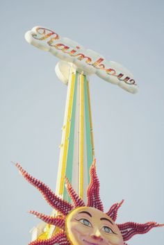 rainbow carnival ride