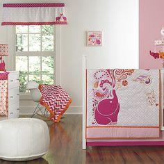 Modern, pink elephan