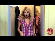 """Caught Cheating With Sexy Girl Prank.  For once it's actually the """"It's not what it looks like"""" excuse is actually the truth. Innocent men looking for a new shirt get more than they bargained for when their wives and girlfriends notice some red lipstick on their neck. Things go from bad to worse when a sexy girl comes out of the change room with a satisfied look on her face.       Make sure you subscribe to our #prank channel on @YouTube! www.youtube.com/gags"""