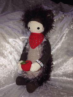 hedgehog mod made by Sonja F. / based on a lalylala crochet pattern