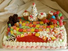 Candyland cake :D