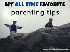 My Favorite Parenting Advice