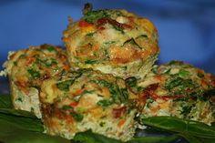 mini crustless (paleo) quiches! (Id experiment with different veggies)