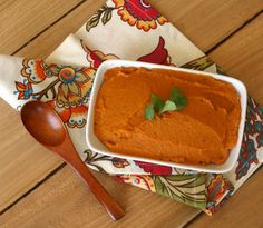 Roasted Sweet Potato Carrot Mash