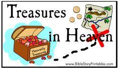 Treasures in Heaven File Folder Game