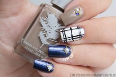Very Emily » Fall Plaid Nails