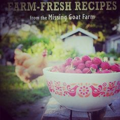 Reading Farm Fresh Recipe from the Missing Goat Farm - Absolutely outstanding and inspired cookbook & recipes!
