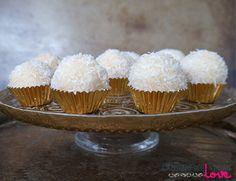 Raw Coconut Snowballs {Gluten-Free, Vegan, Paleo, Refined Sugar-Free, No-Bake}