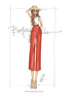 Terra Cotta [ www.brittanyfuson.com ] #culottes