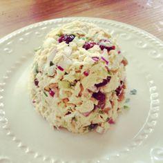 Mexican Walnut-Cranberry Tuna Salad - easily Nightshade Free