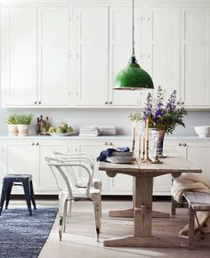 Colored Green Pendant Lights For Kitchen Island