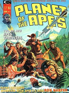 Issue 4 of the Planet of the Apes