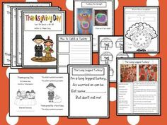 $ Thanksgiving Math and Literacy Activities by Deanna Jump