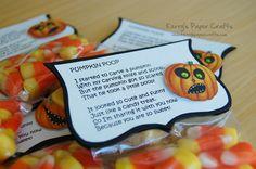 Pumpkin poop. Class gift?