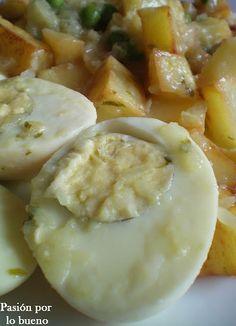 Huevos en salsa verde