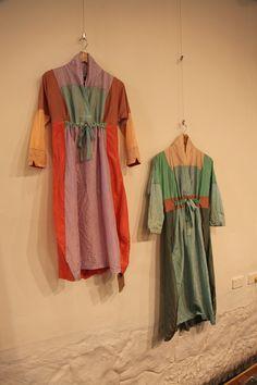 Sark Studio studio display, vogue patterns, sark studio, kimono dress