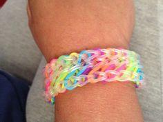 Reverso Bracelet. Tutorial by Loom Love.