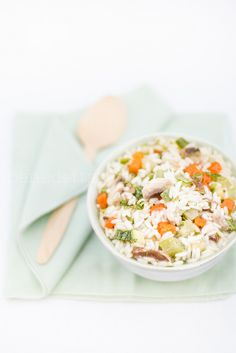 minestra riso e verdure