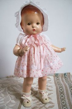 Effanbee Patsy, with hard to find sleep eyes, hand made dress set
