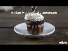 Italian Meringue Buttercream Frosting is made from sugar, egg whites, and butter. It's light, fluffy, and never cloying. This recipe includes options for vanilla, chocolate or strawberry buttercream. Once you know this basic buttercream recipe, the flavor possibilities are endless!