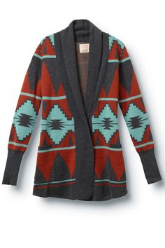Quicksilver Cardigan. 25 Southwestern Pieces To Add Some Spice To Your Wardrobe #refinery29