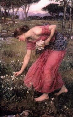 Narcissus, John William Waterhouse