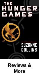 The Hunger Games by Suzanne Collins. New York : Scholastic Press, 2008. Location: Popular Reading Collection Main Level -  PZ7.C6837 Hun 2008.